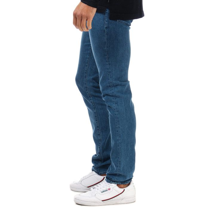 Men's Ted Baker Talma Tapered Light Wash Jeans in Blue