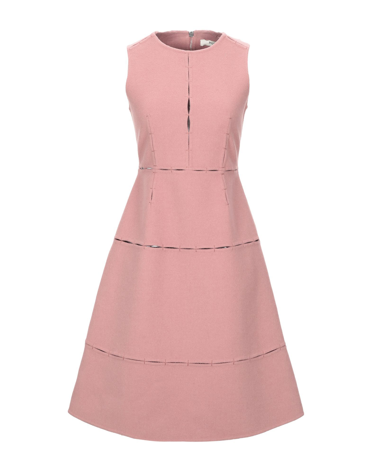 Bally Pastel Pink Virgin Wool Dress