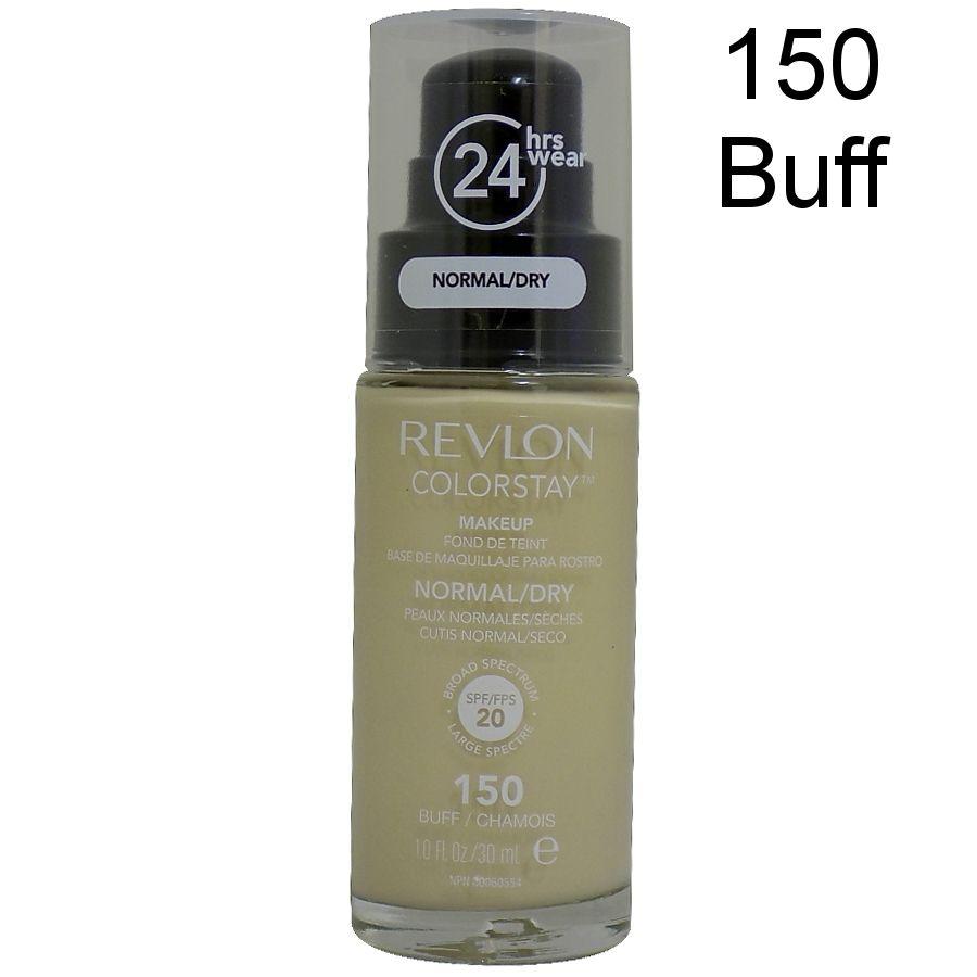 Revlon Colorstay Pump 24HR Make Up SPF20 Norm/Dry Skin 30ml - 150 Buff