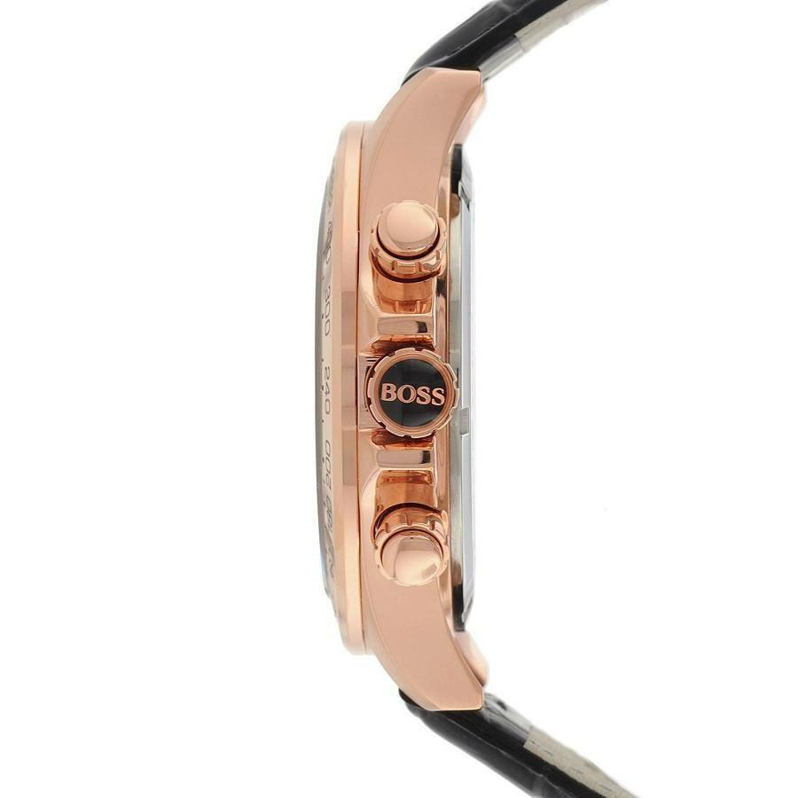Hugo Boss Mens' Ikon Chronograph Watch 1513179