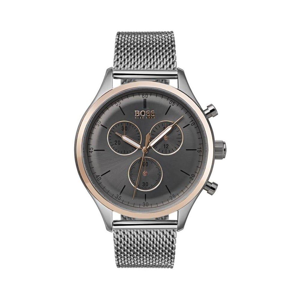 Hugo Boss Mens' Companion Chronograph Watch 1513549