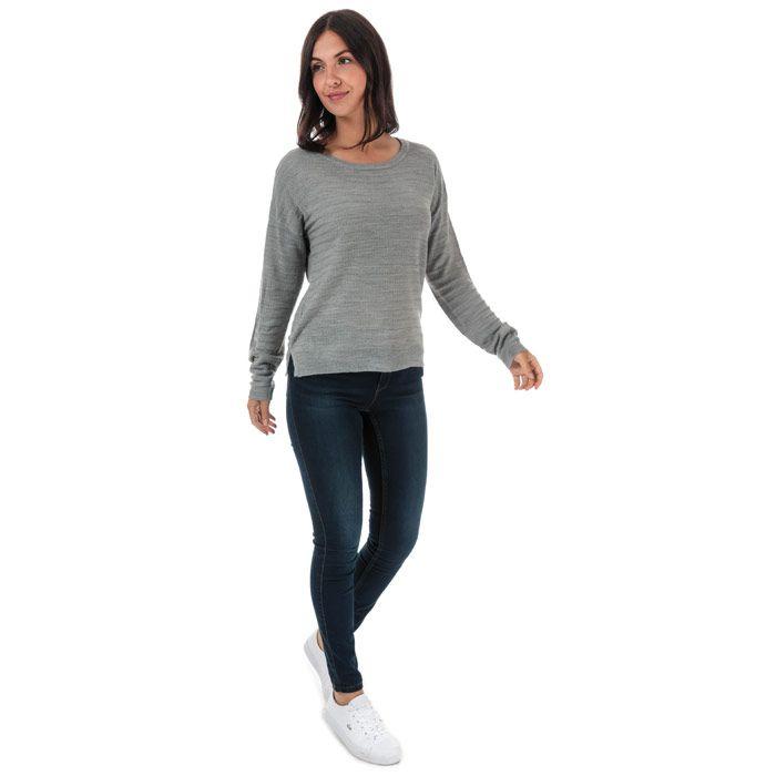 Women's Jacqueline de Yong Gadot Jumper in Light Grey