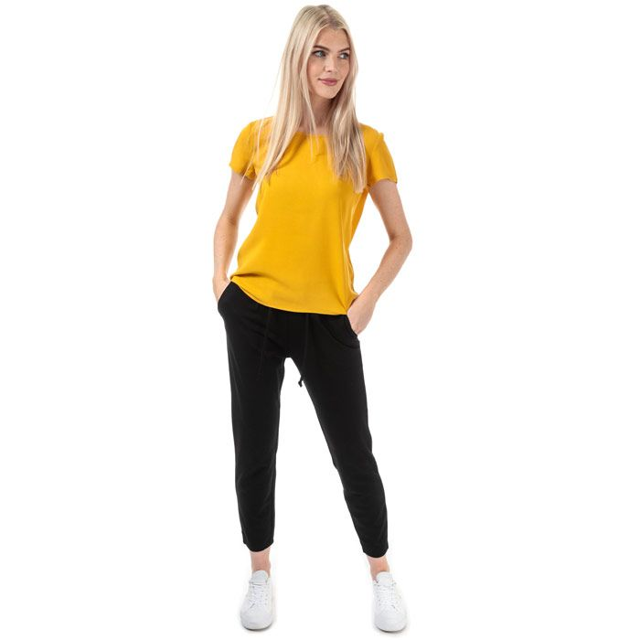 Women's Only First One Life Top in Yellow