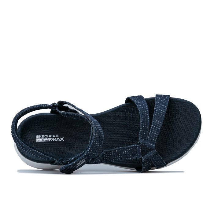 Women's Skechers On The Go 600 Brilliancy Sandals in Navy