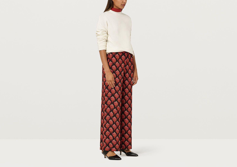 Abelia Tapestry Tile Trousers - Multi