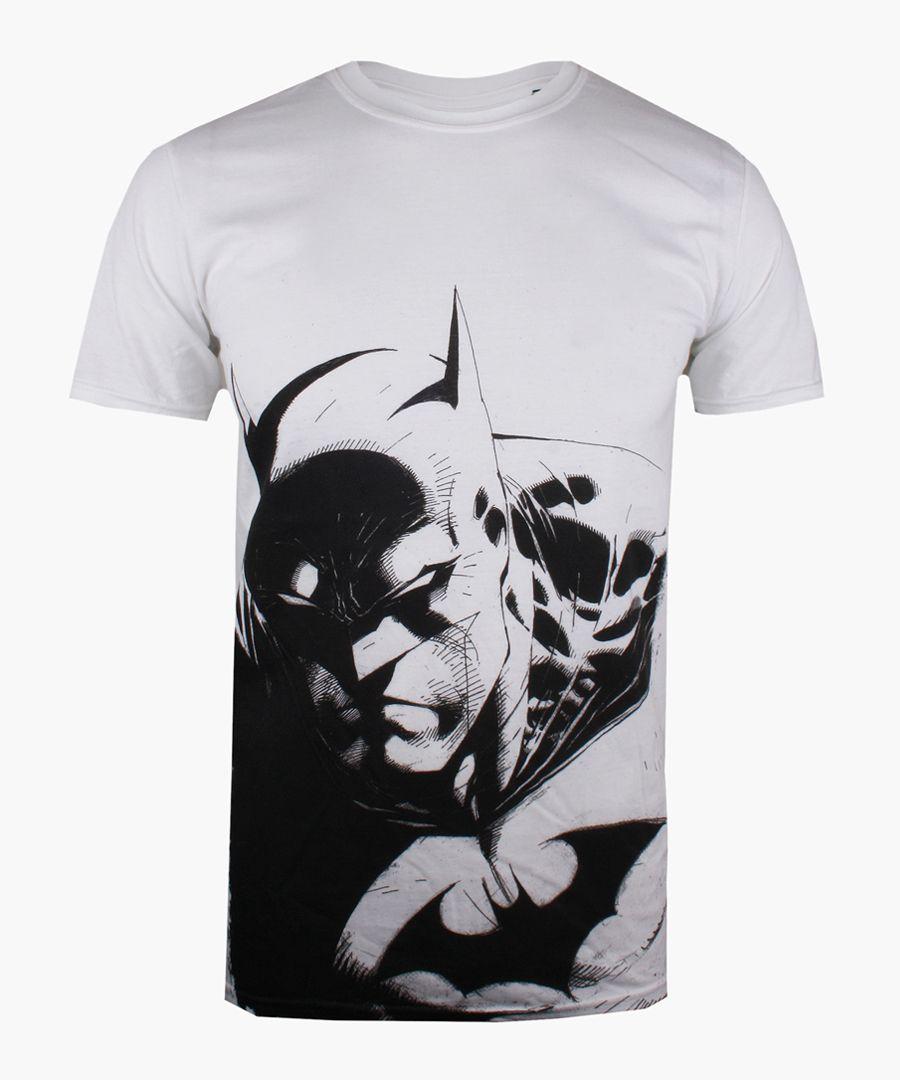 Batman white cotton T-shirt