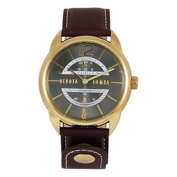 Devout & Lomba Mens Watch DL009MMF-02BRBLACK (42 mm)