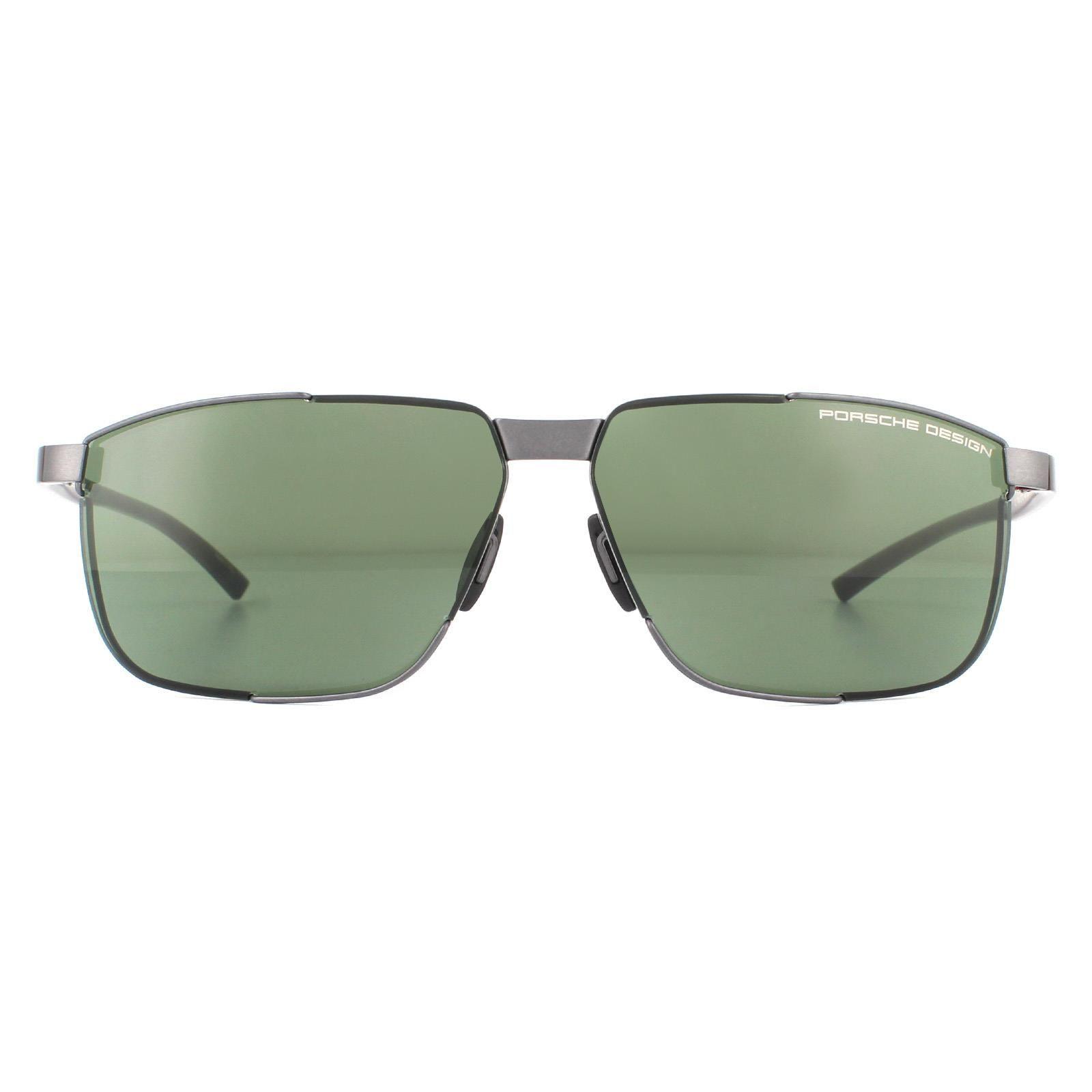 Porsche Design Sunglasses P8680 C Dark Gunmetal Green