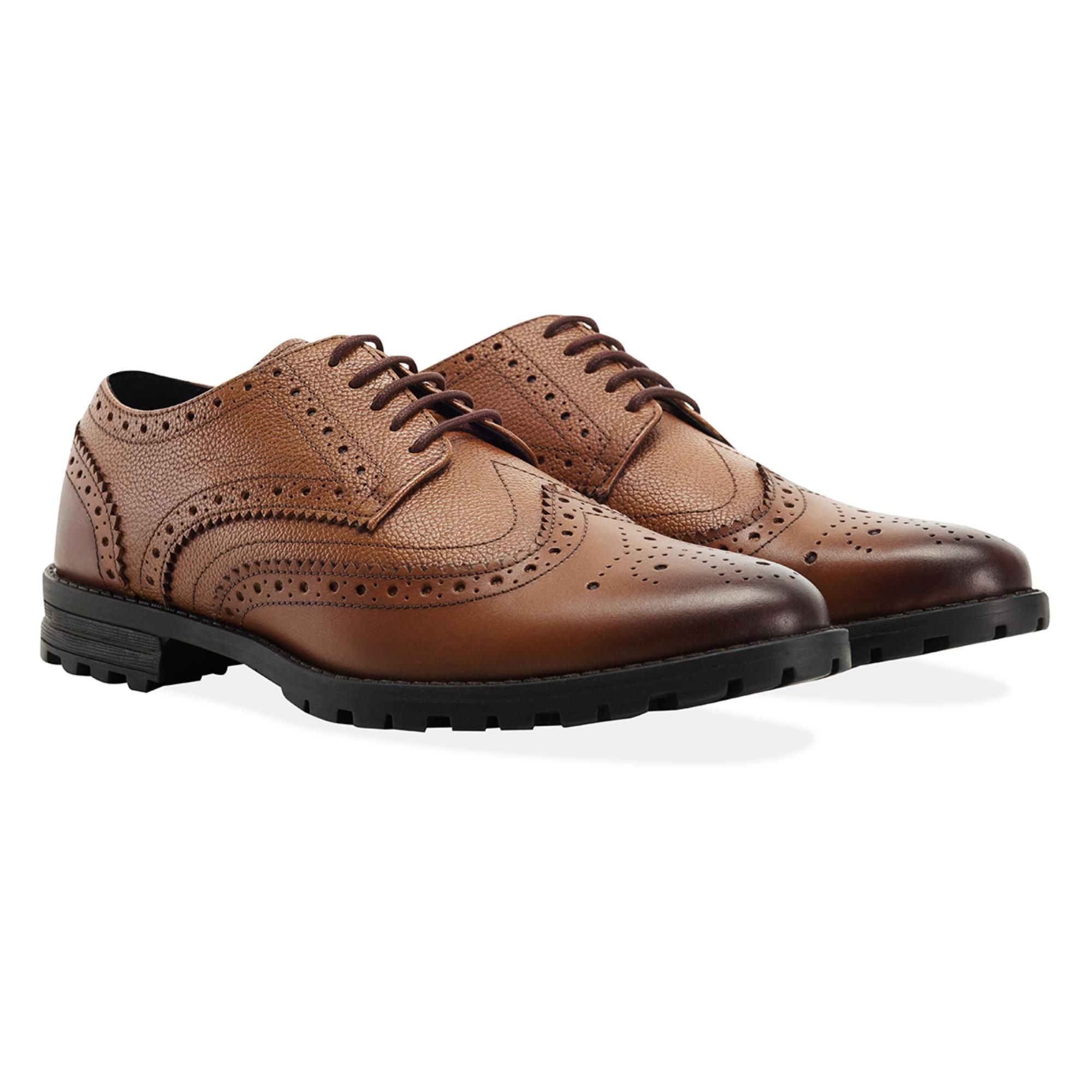 Redfoot James Tan Brogue