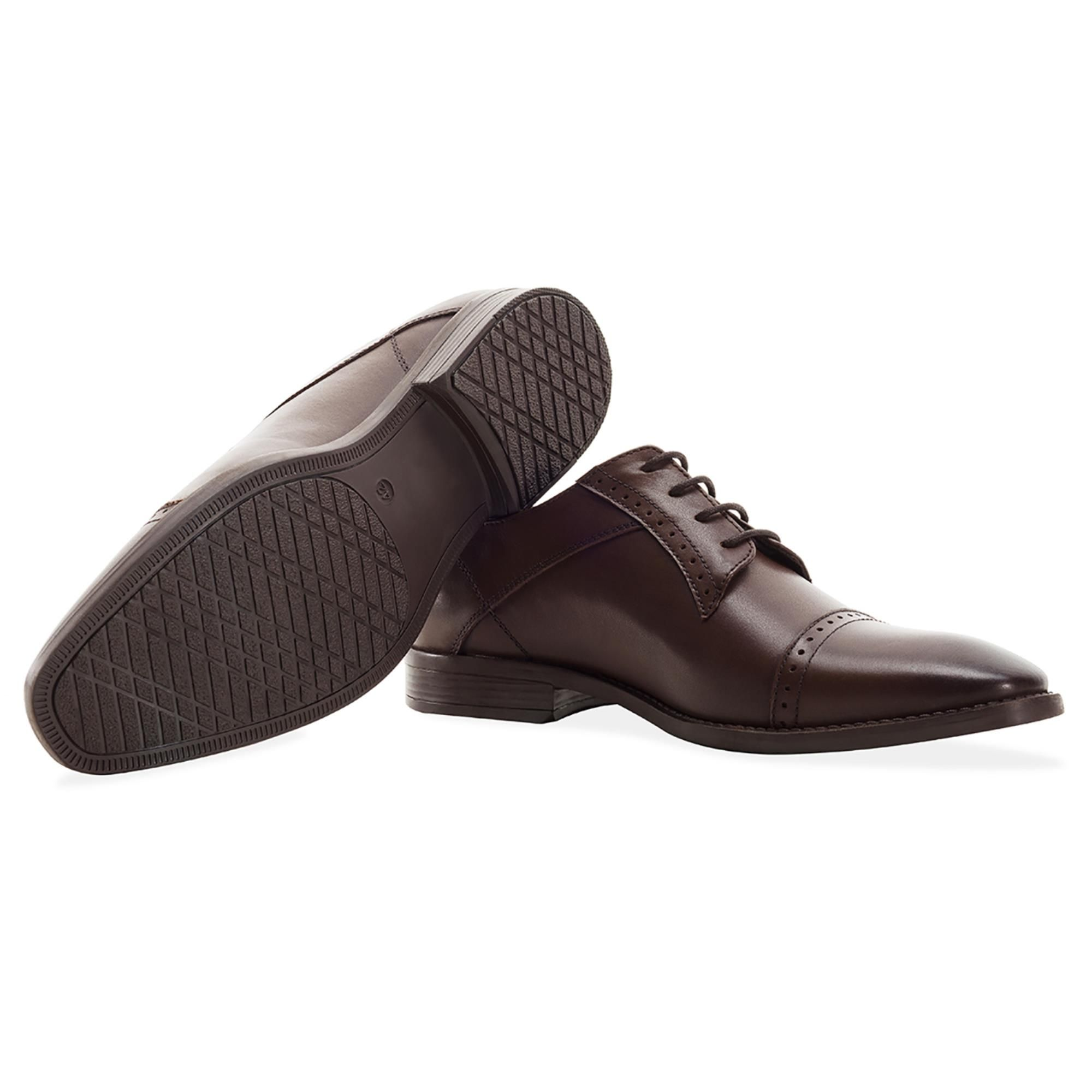 Redfoot Raymond Brown Leather Derby Brogue