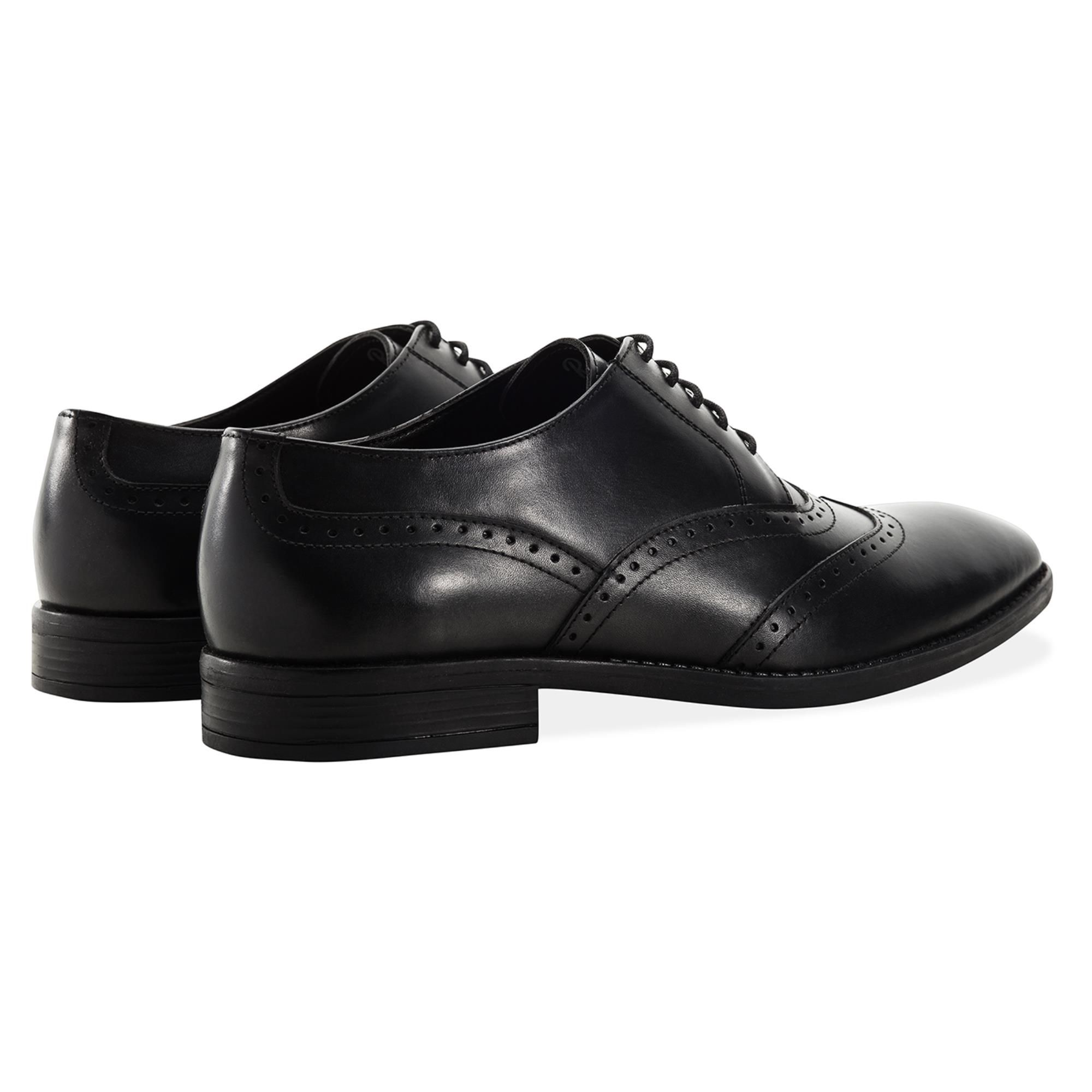 Redfoot Arthur Black Leather Derby Shoe
