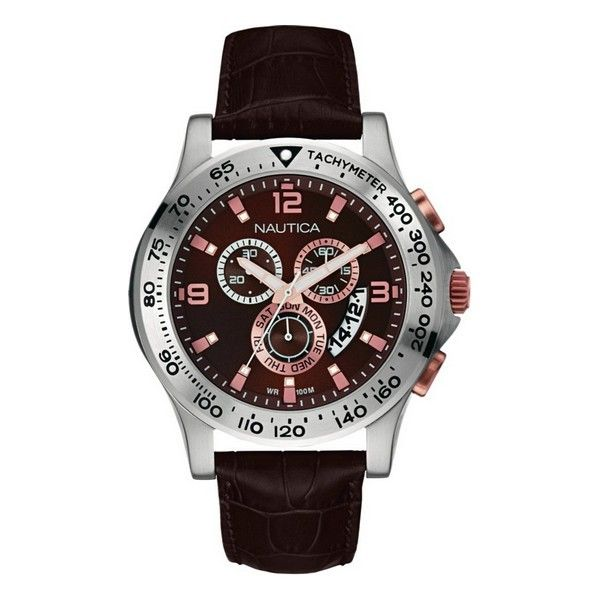 Nautica Mens Watch NAI19503G (45 mm)