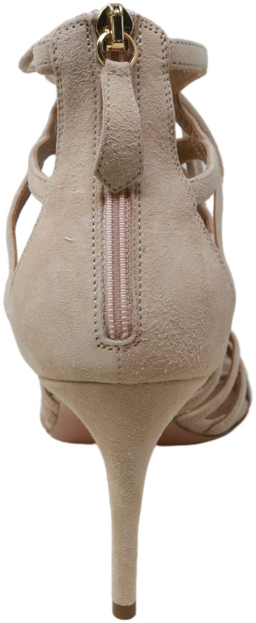 Aquazzura Firenze Women's Ivy Sandal 75 High-Top Leather Pump