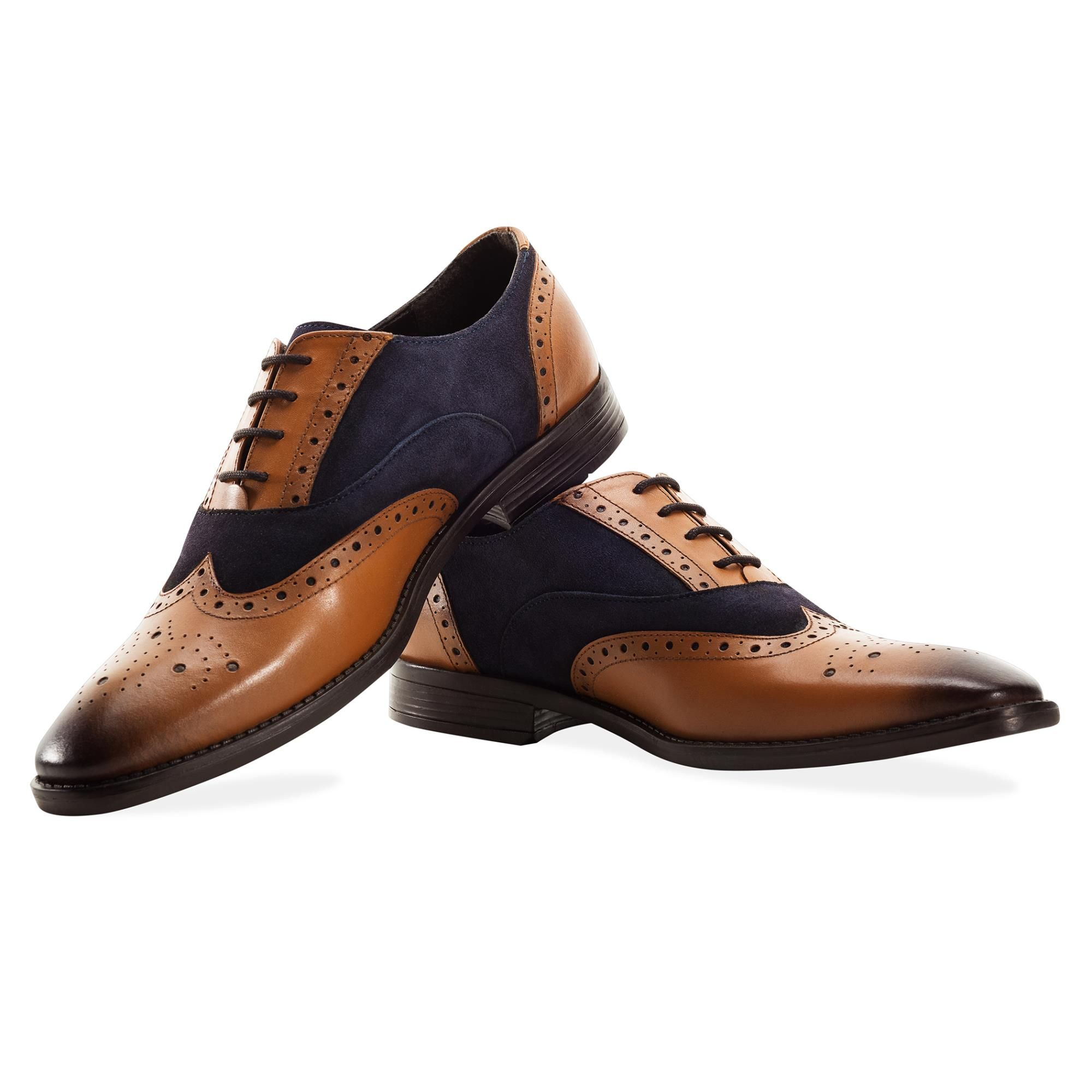 Redfoot Issac Navy & Tan