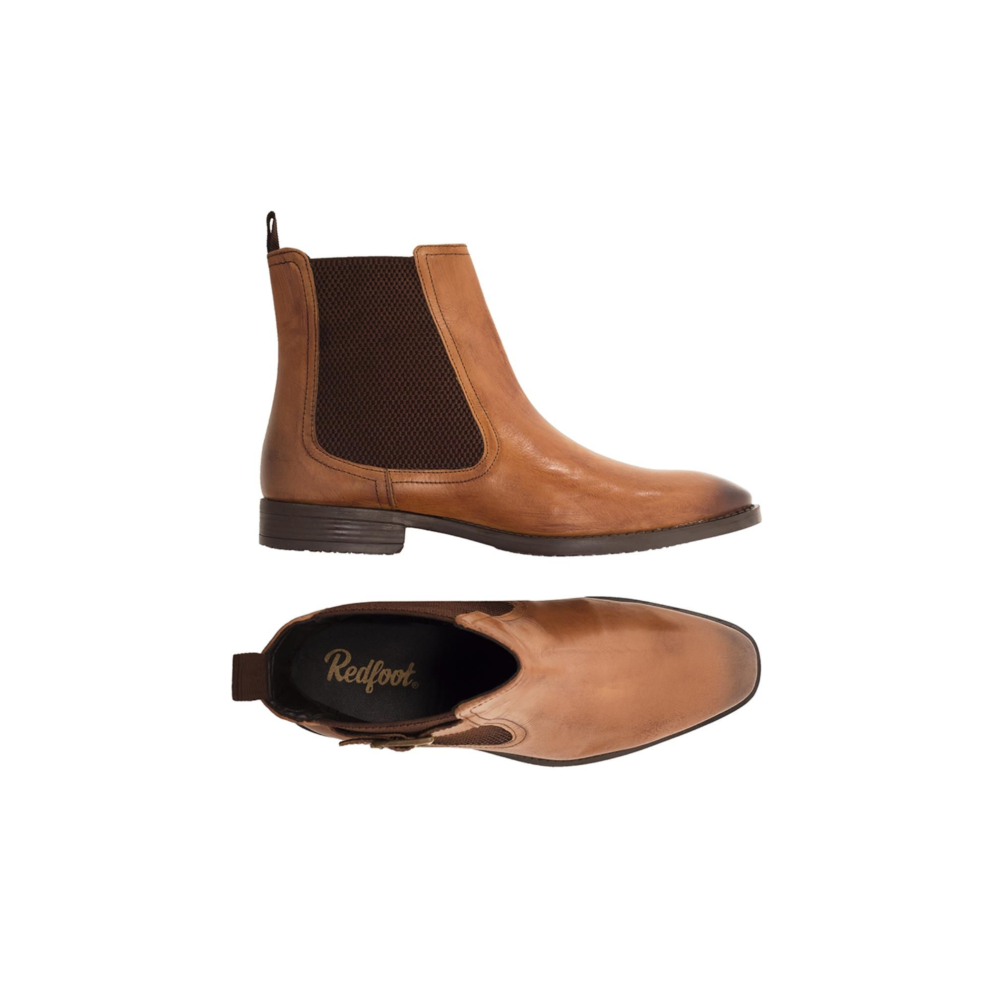 Redfoot Harold Tan Leather Chelsea Boot