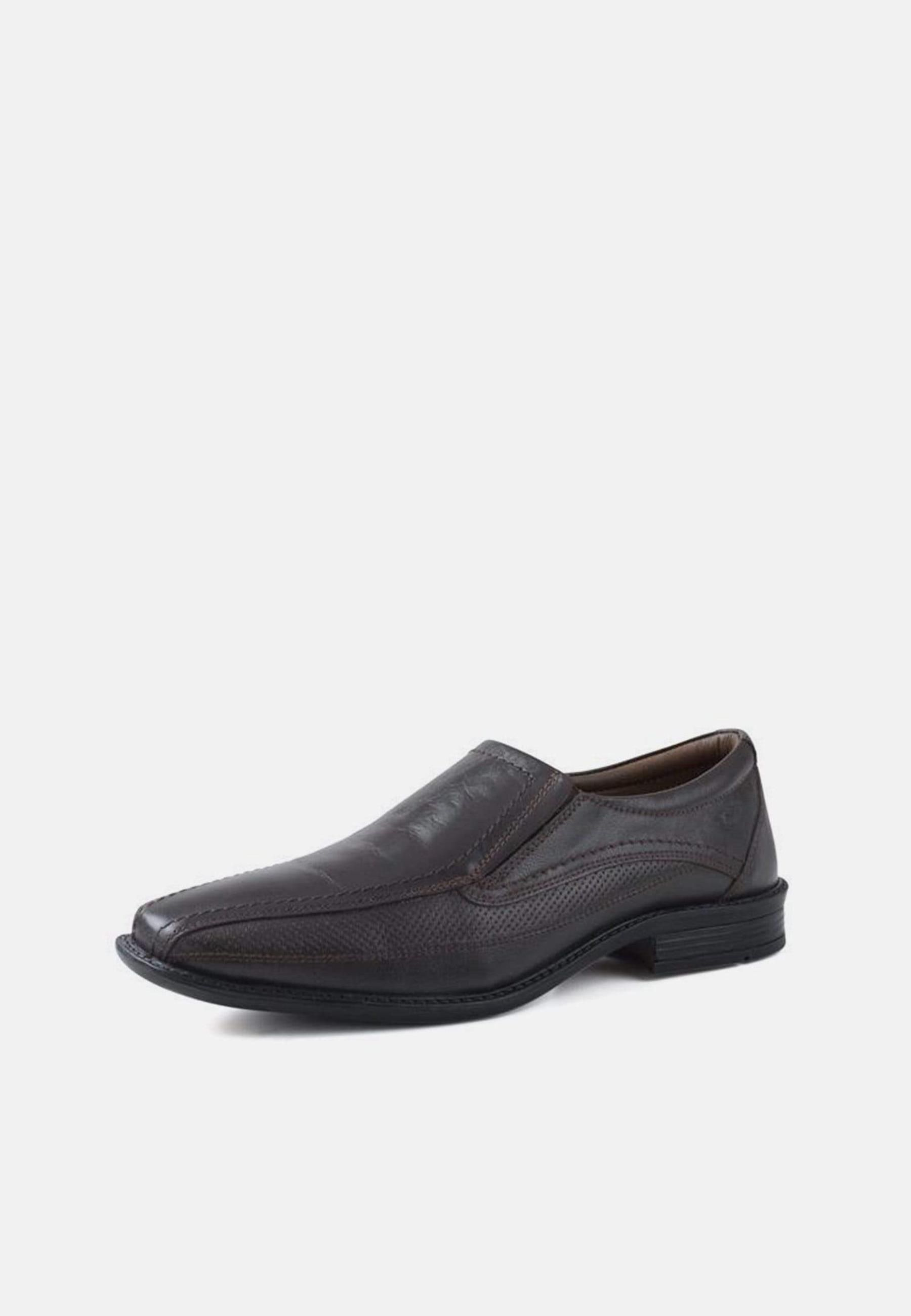 Redfoot Maurice Brown Leather Slip On Shoe