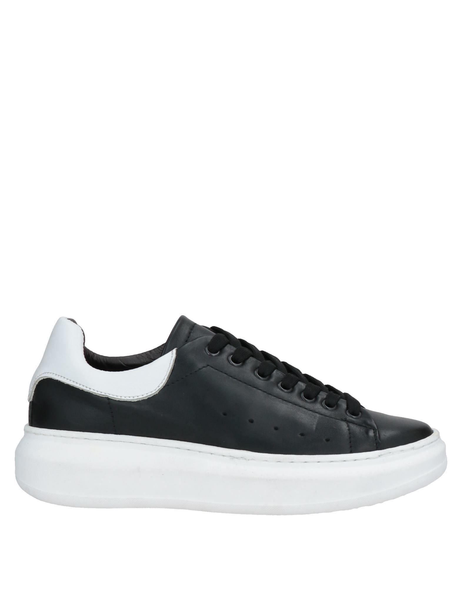Roberto Della Croce Black Leather Sneakers