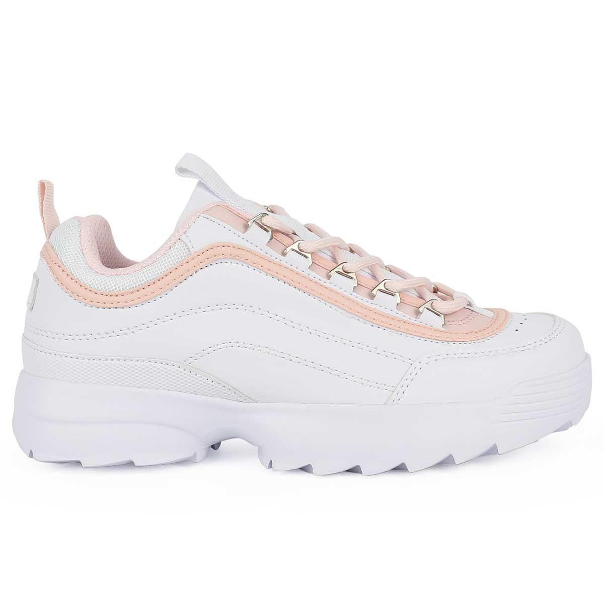 Montevita Chunky Sneaker in White