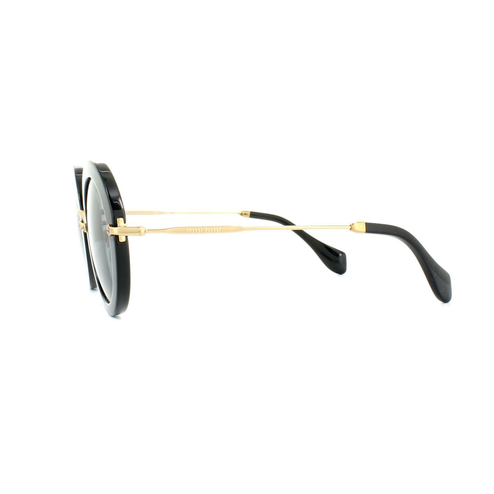 Miu Miu Sunglasses 13NS 1AB1A1 Black Grey