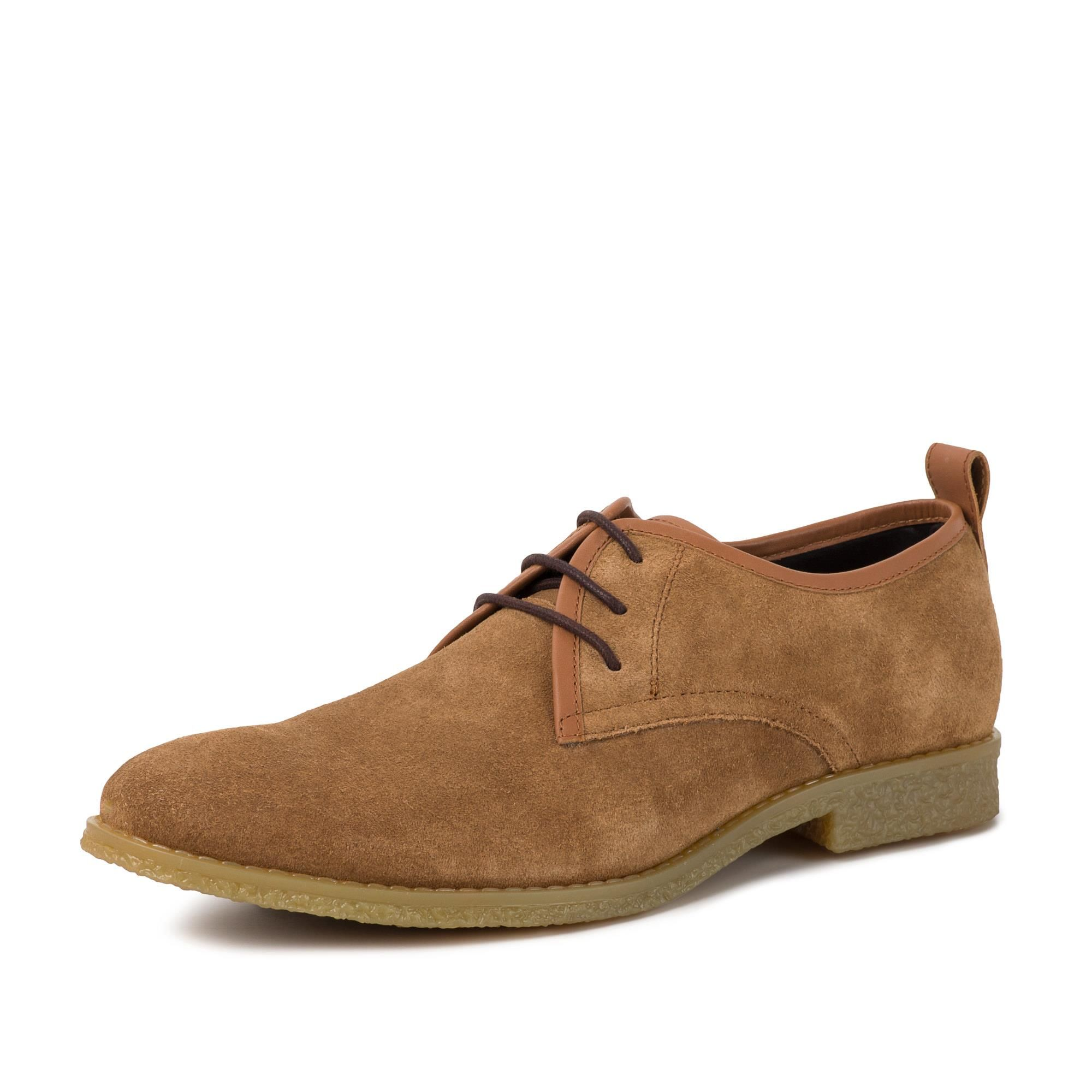 Redfoot Lewis Chestnut Suede Desert Shoes
