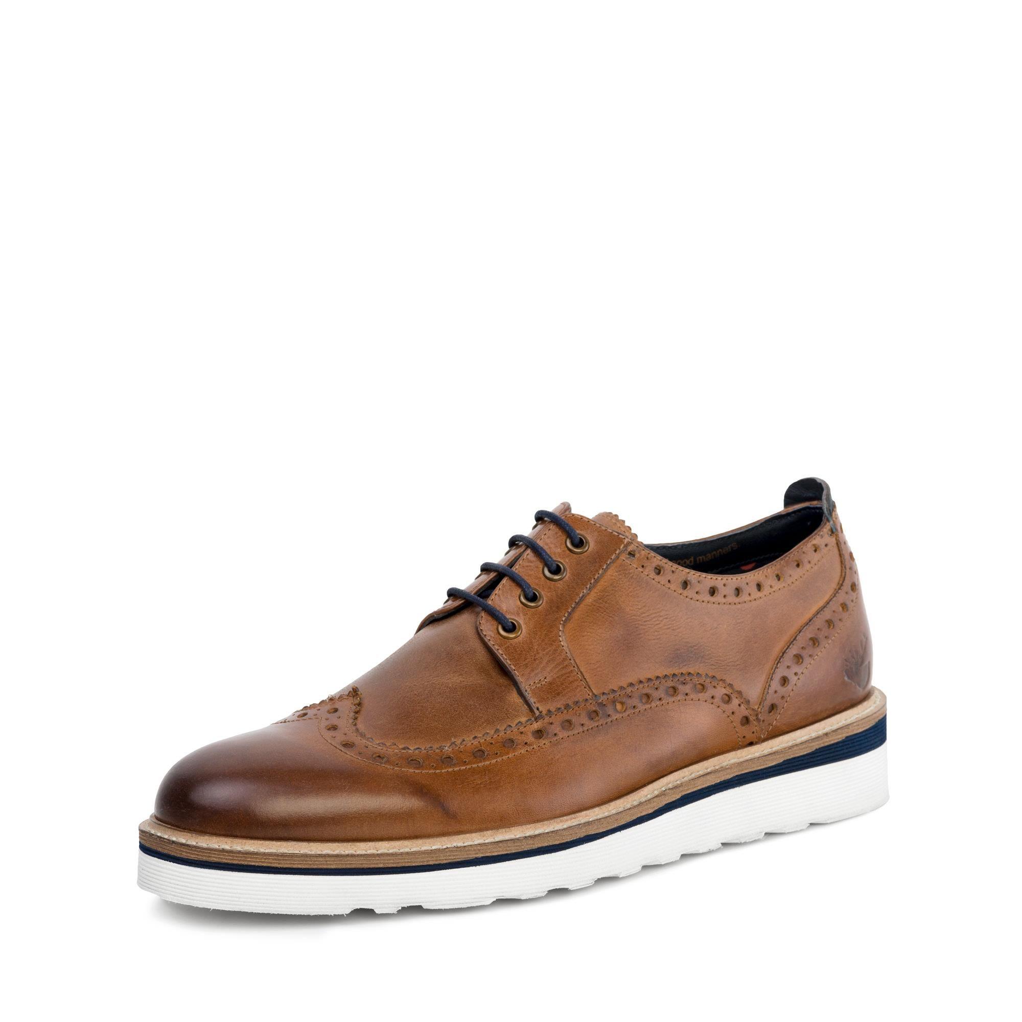 Goodwin Smith Ripley Tan Casual Leather Brogue Shoe