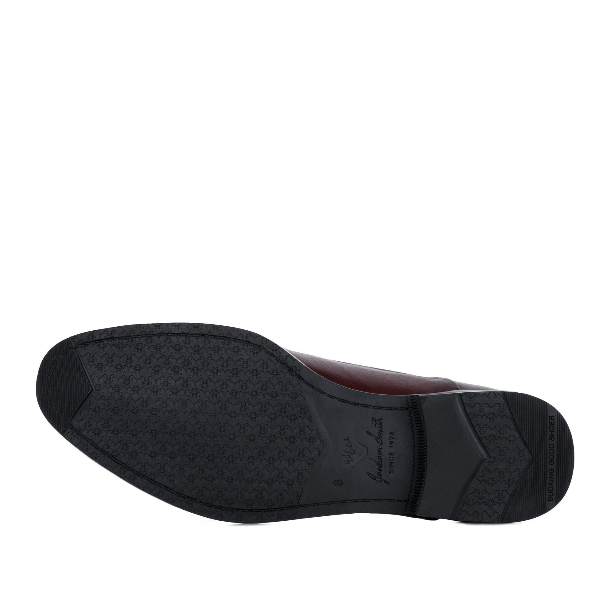 Goodwin Smith Irving Bordo Classic Leather Oxford Shoe
