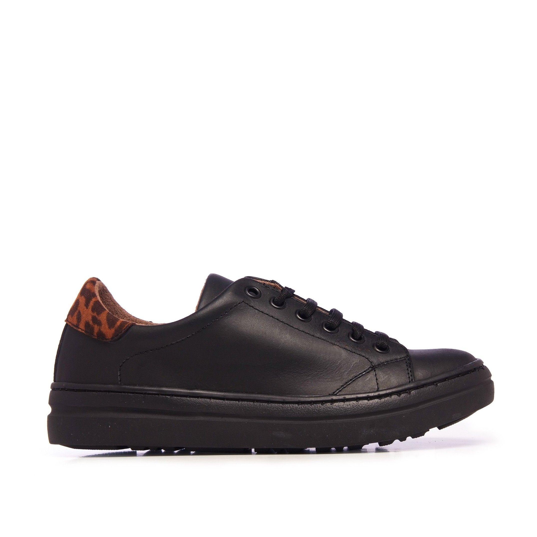 María Barceló Sport Shoes Women Sneaker Black Color Laces Woman
