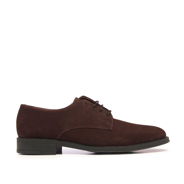 Castellanisimos Classic Men Blucher Leather Dress Shoe Brown