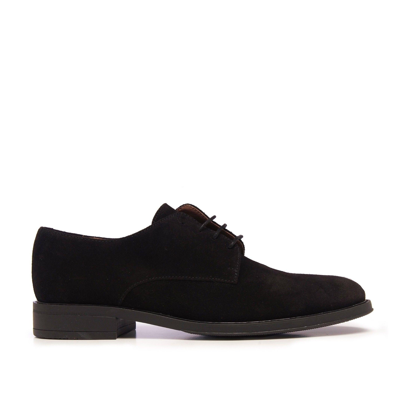 Classic Men's Blucher Leather Dress Shoe Black