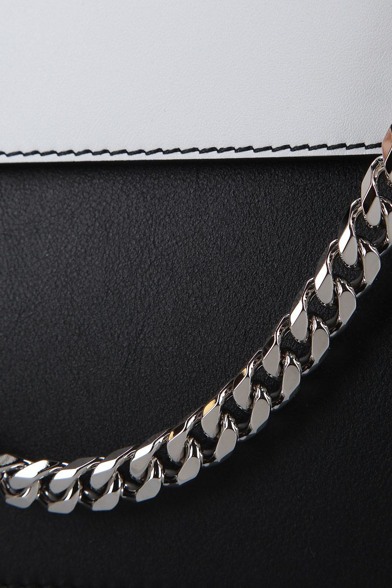 ALEXANDER MCQUEEN WOMEN'S 5702131BU1I1095 BLACK LEATHER SHOULDER BAG