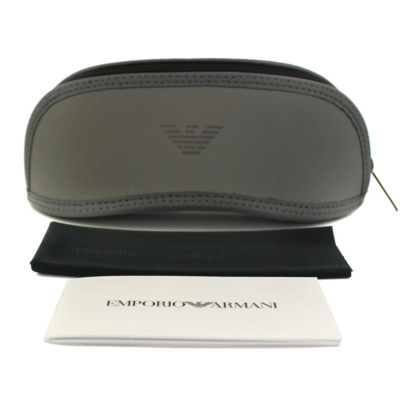Emporio Armani Sunglasses EA4150 506371 Rubber Black Green