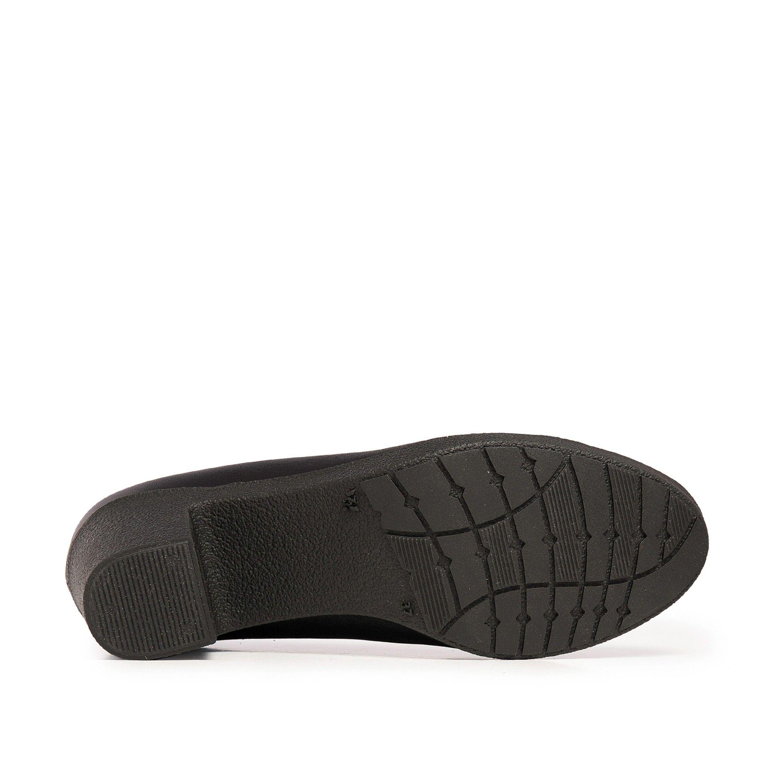 Castellanisimos Leather Women Black Blucher Shoes Laces