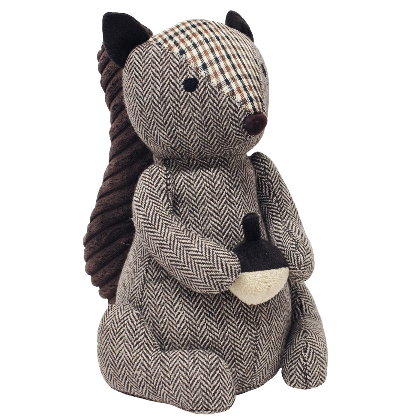 Squirrel Doorstop, Brown
