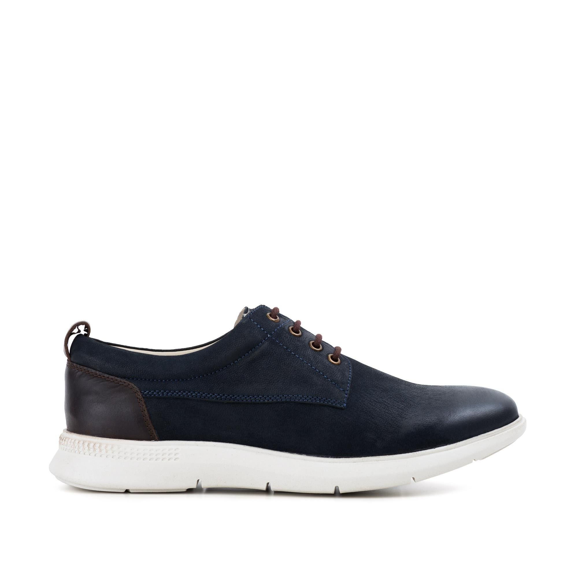 Redfoot Mens Redfoot Motion Navy Casual Derby Boot