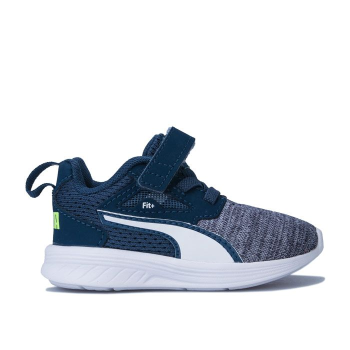 Boy's Puma Infant AC Rupture Trainers in Navy