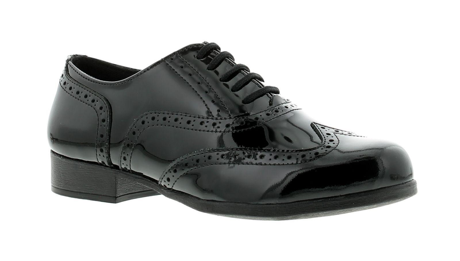 Hush Puppies kada Womens Flat Shoes black