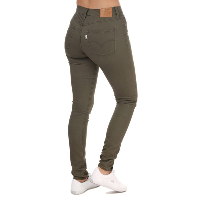 Women's Levis 311 Shaping Skinny Hypersoft Jeans olive 26Sin olive