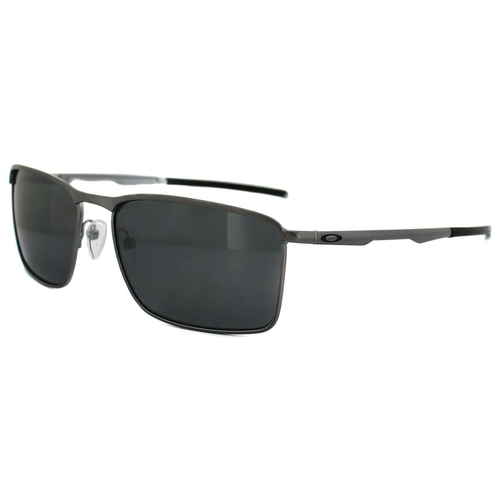 Oakley Sunglasses Conductor 6 OO4106-02 Lead Black Iridium Polarized