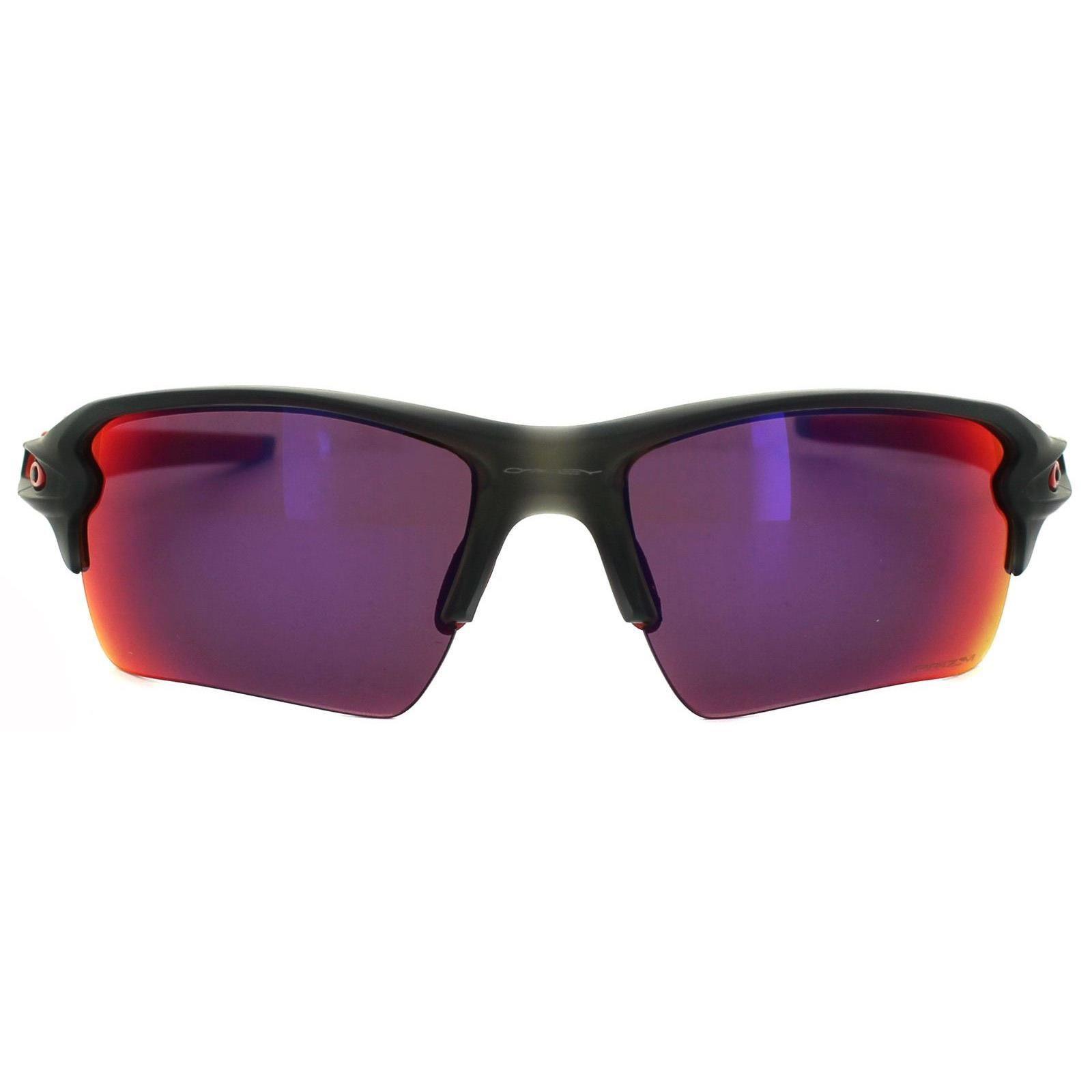 Oakley Sunglasses Flak 2.0 XL OO9188-04 Matt Grey Smoke Prizm Road