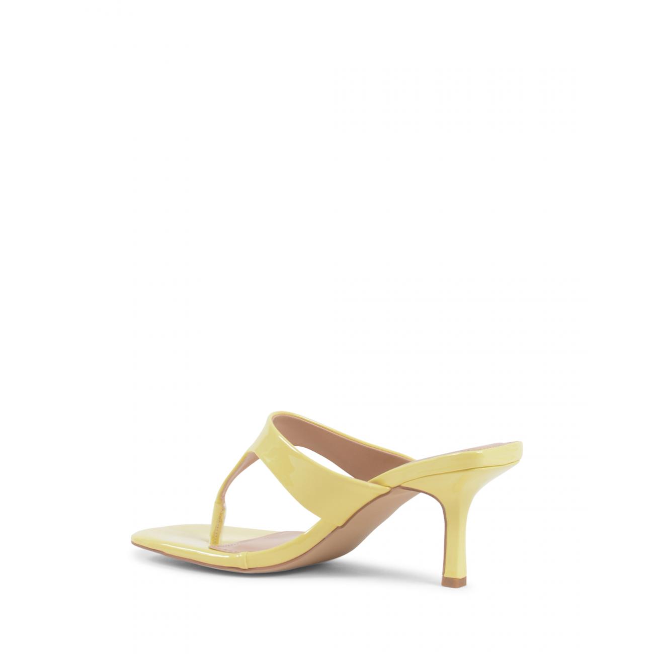 19V69 Italia Women's Mule Sandal Yellow V81819 YELLOW
