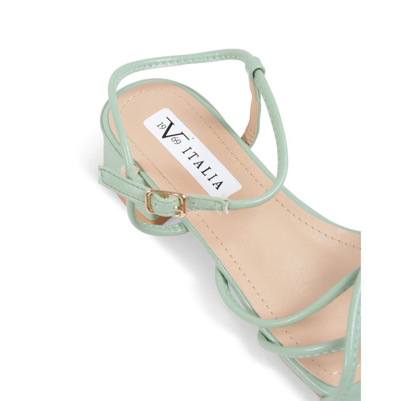 19V69 Italia Women's Sandal Green V81828 GREEN