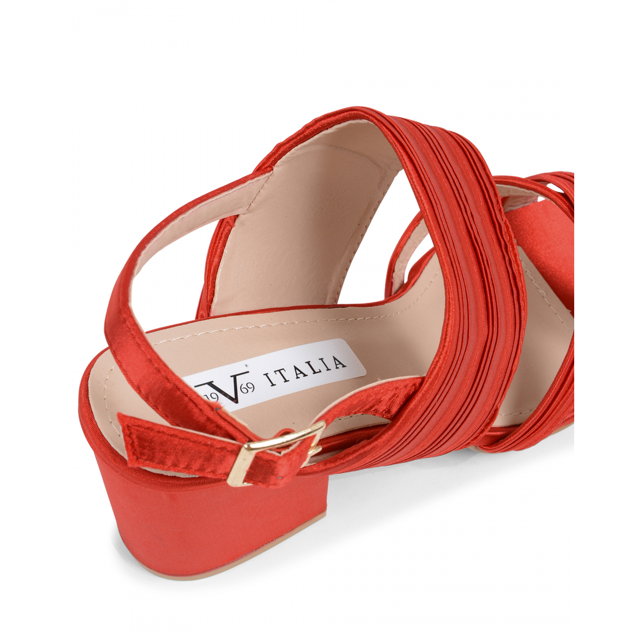 19V69 Italia Women's Slingback Sandal Red V31 RED