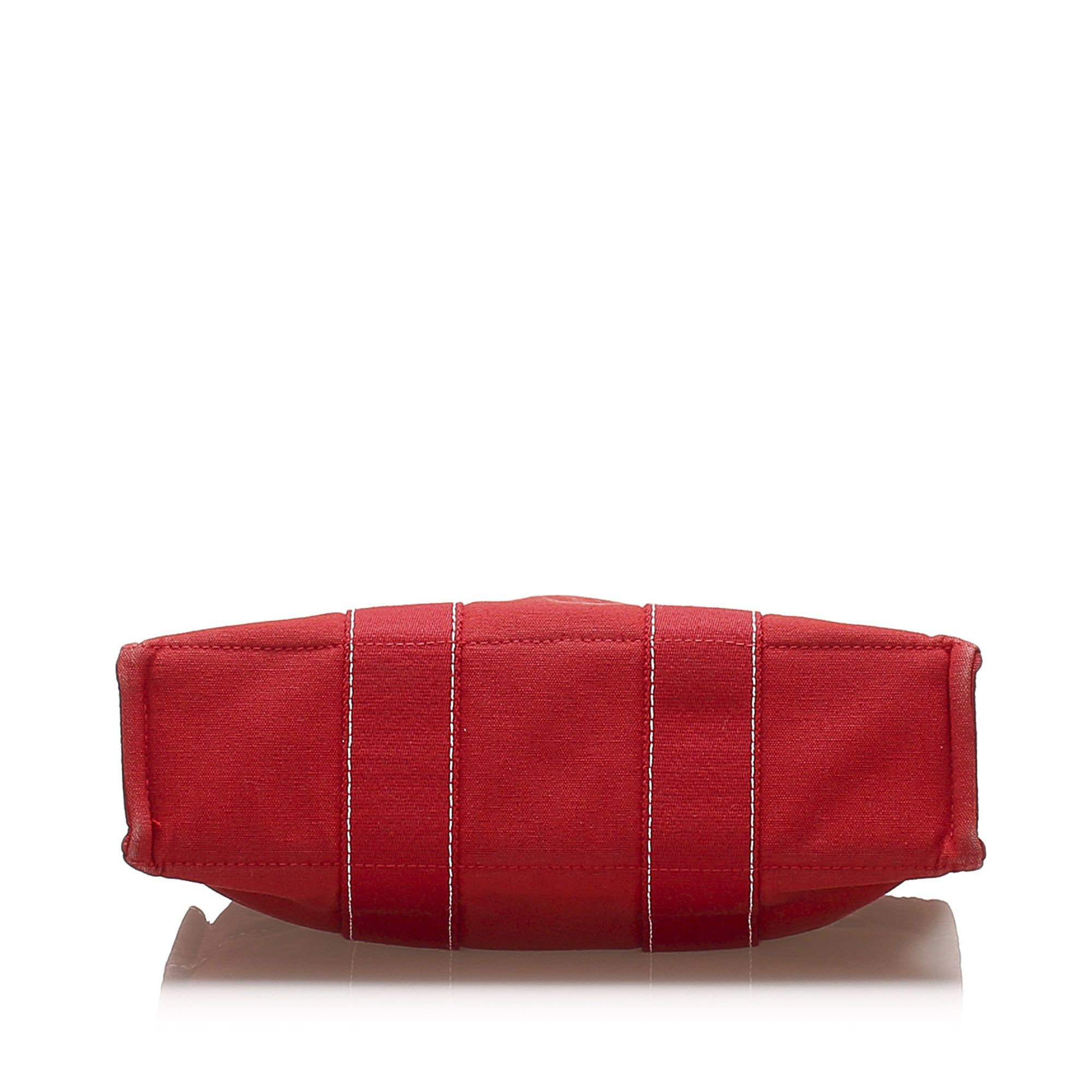 Vintage Hermes Fourre Tout PM Red