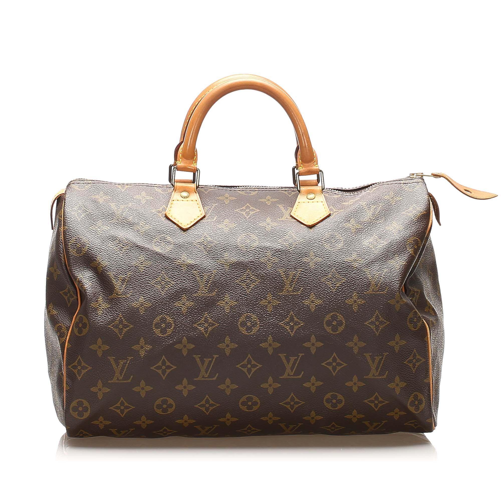 Vintage Louis Vuitton Monogram Speedy 30 Brown