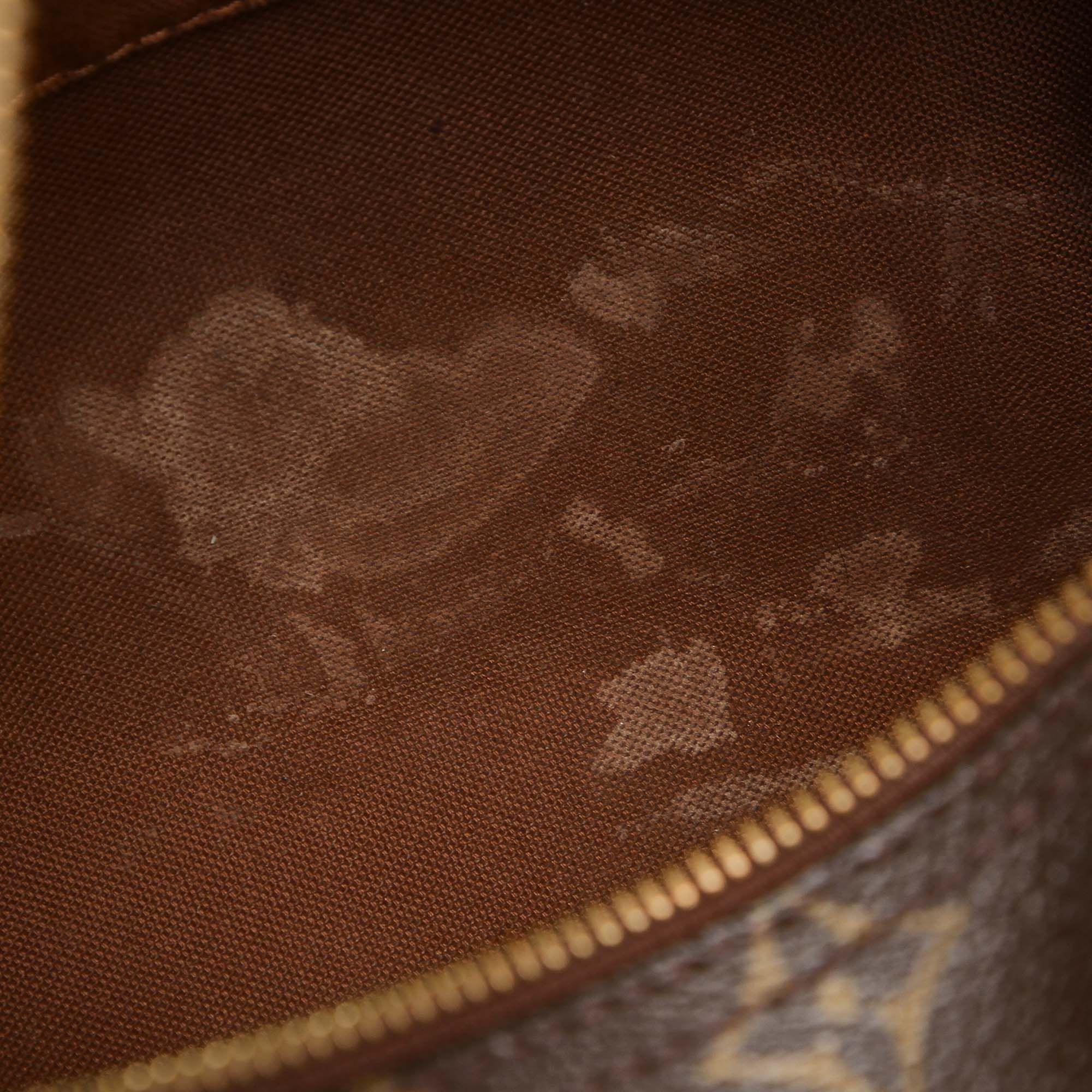 Vintage Louis Vuitton Monogram Speedy 25 Brown