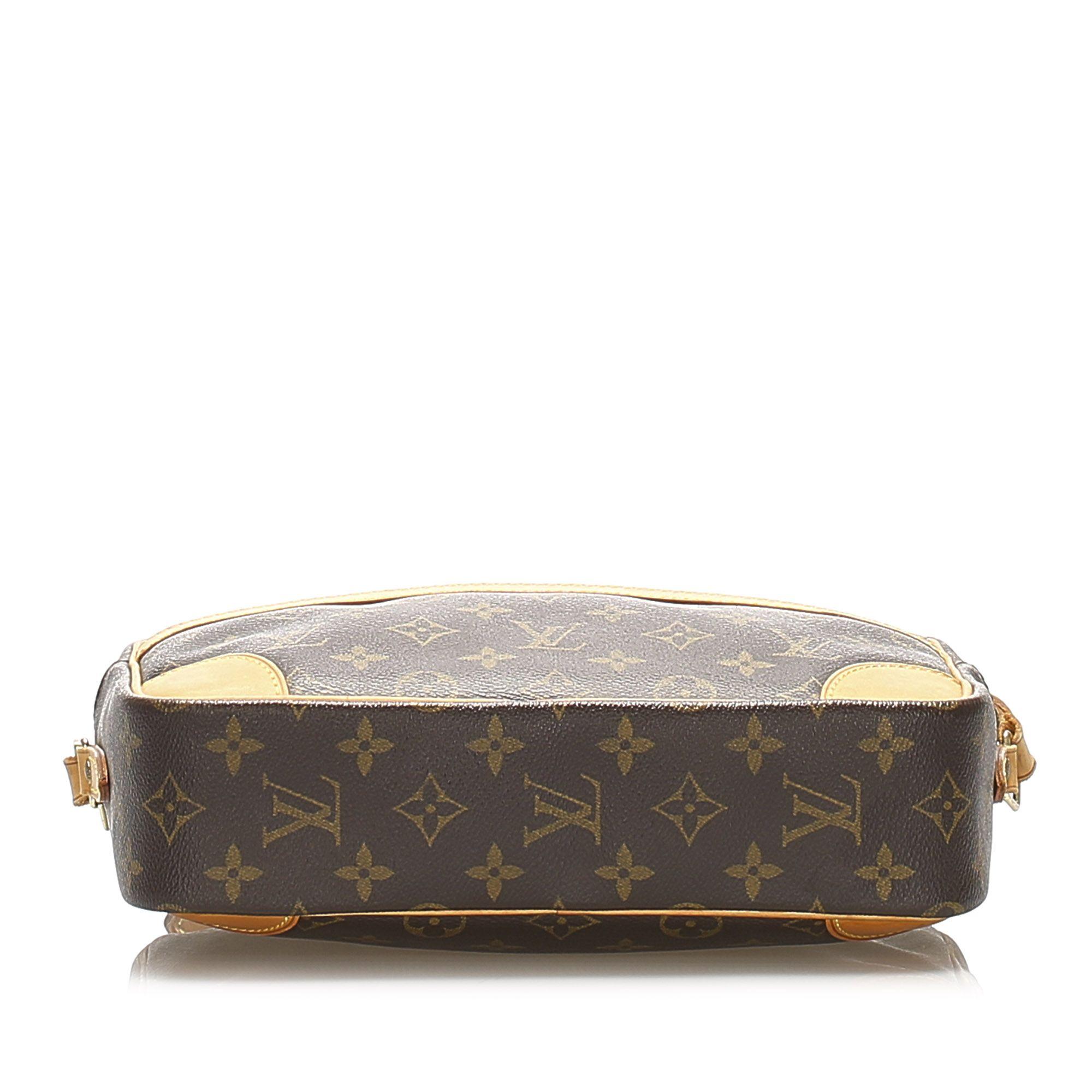 Vintage Louis Vuitton Monogram Trocadero 27 Brown