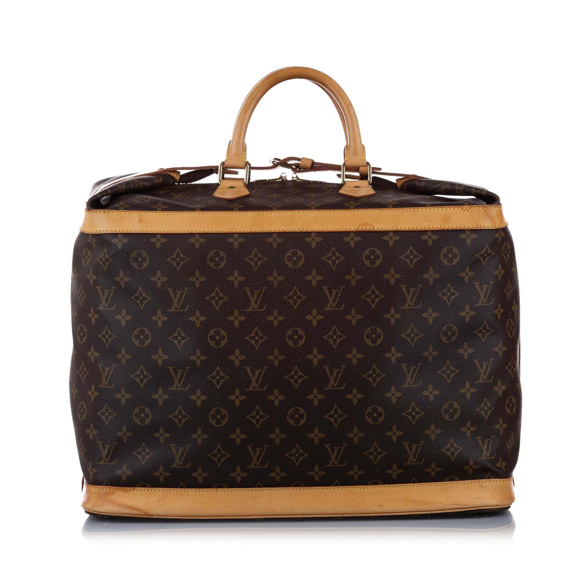 Vintage Louis Vuitton Monogram Cruiser 50 Brown
