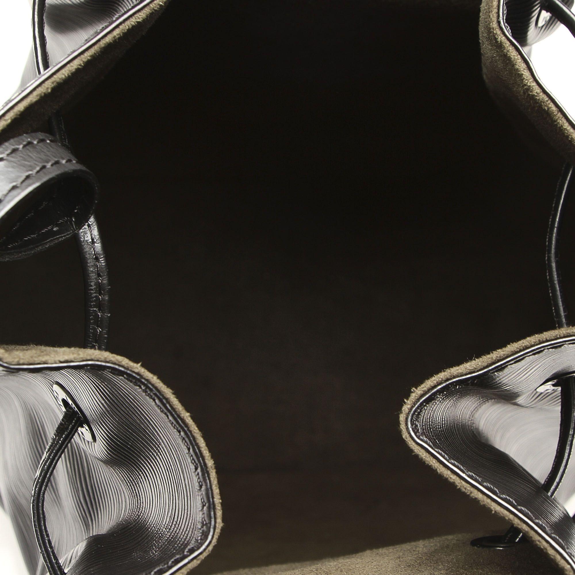 Vintage Louis Vuitton Epi Sac dEpaule Black