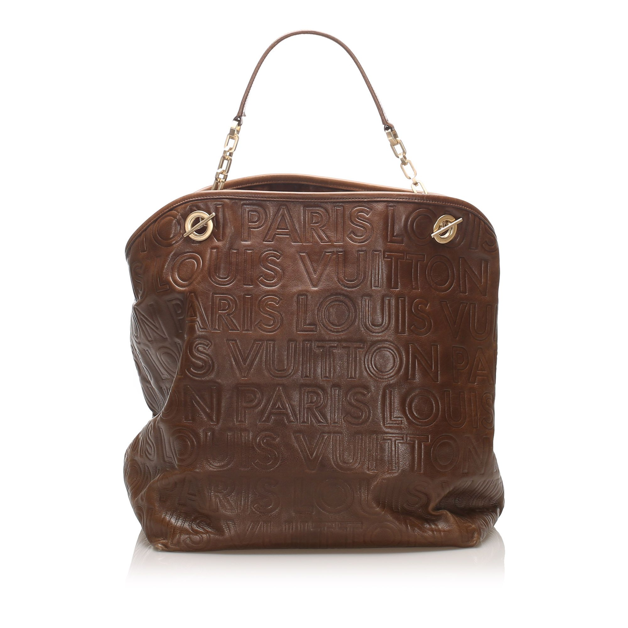 Vintage Louis Vuitton Paris Souple Whisper GM Brown