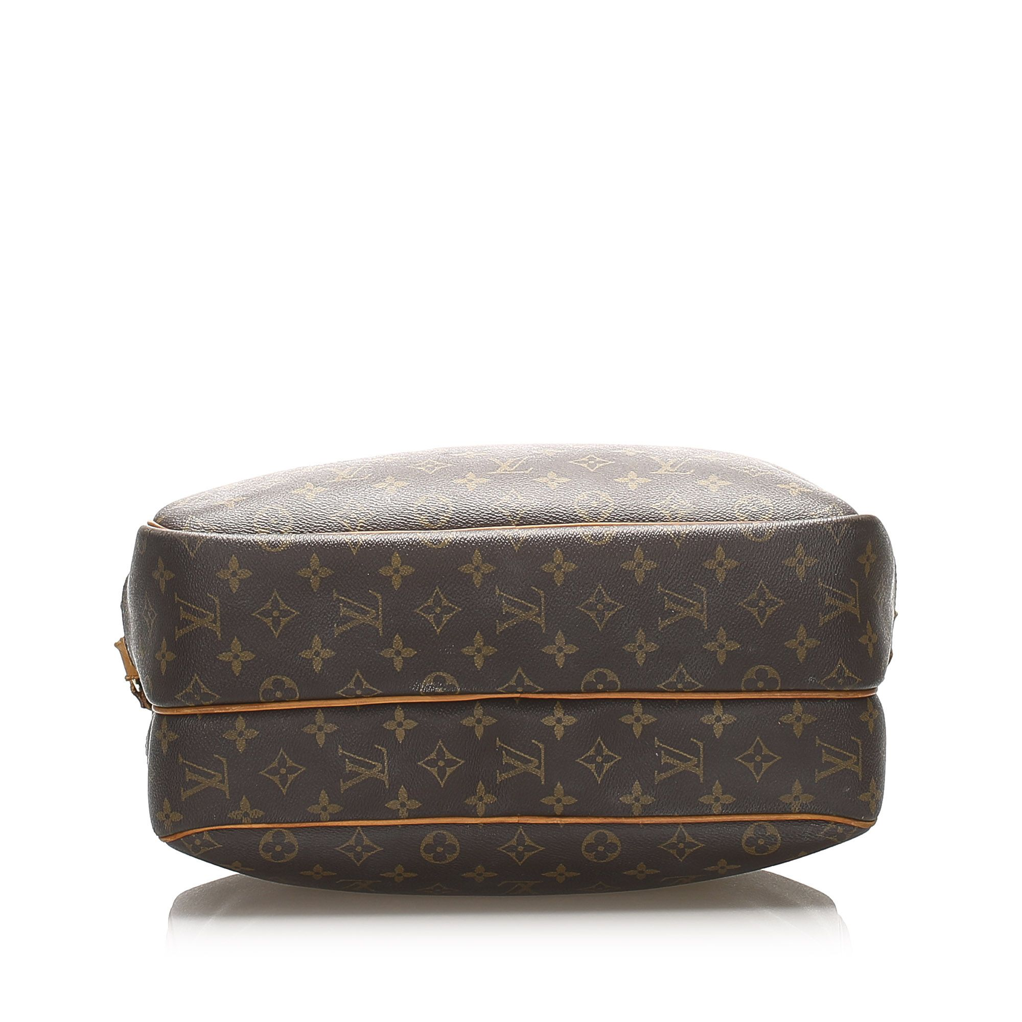Vintage Louis Vuitton Monogram Reporter GM Brown